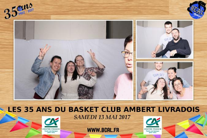 Repas des 35 ans - Collages photobooth