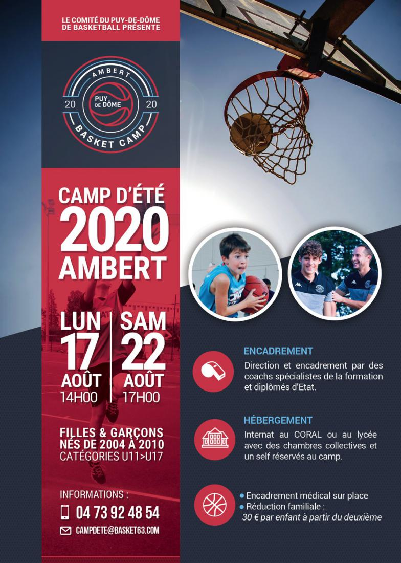 Ambert Basket Camp 2020