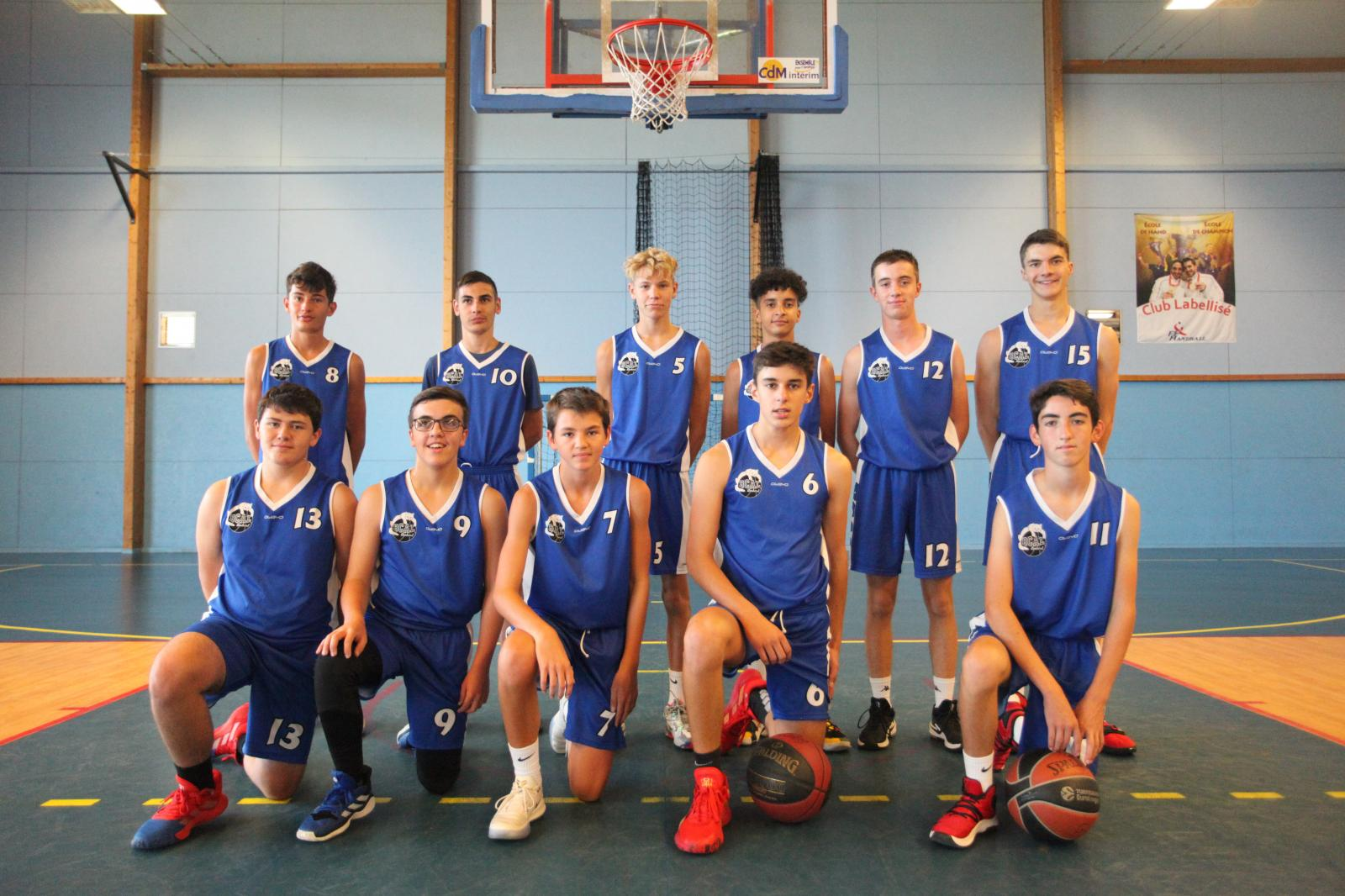Match amical U17M - JA Vichy 2