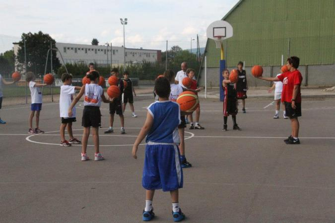 Camp d'été Ligue d'Auvergne de Basket 2014